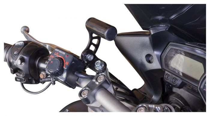 For BMW R 1200 R Handlebar Camera SatNav Mount Bracket